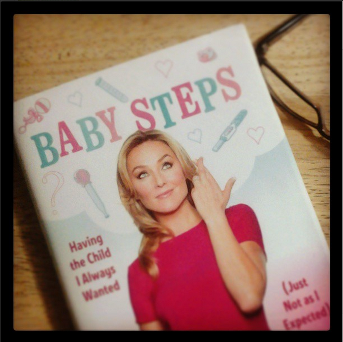 Libro Baby Steps: Having the Child I Always Wanted (Just Not as I Expected) por @ElisabethRohm | Reseña #Ad