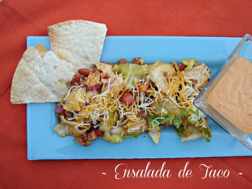 Ensalada de Taco | Receta #MasecaNosGusta #ad