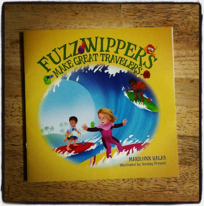 Libro infantil: Fuzzwippers Make Great Travelers de @FourSunflowers Media | Reseña