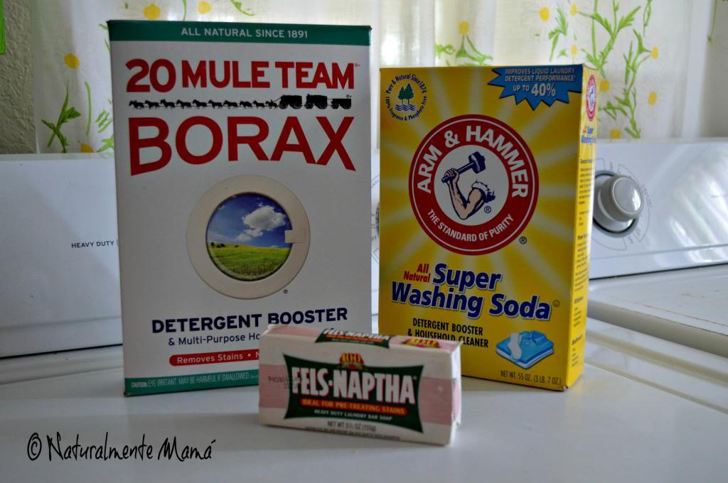 Jabón En Polvo Casero Para Lavar La Ropa Receta Naturalmente Mamá