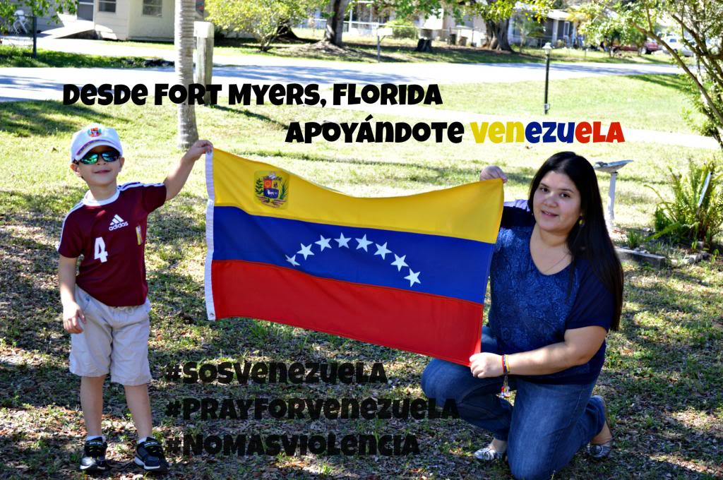 Miércoles Mudo ~ S.O.S. Venezuela #PrayforVenezuela #NoMasViolencia #SOSVenezuela