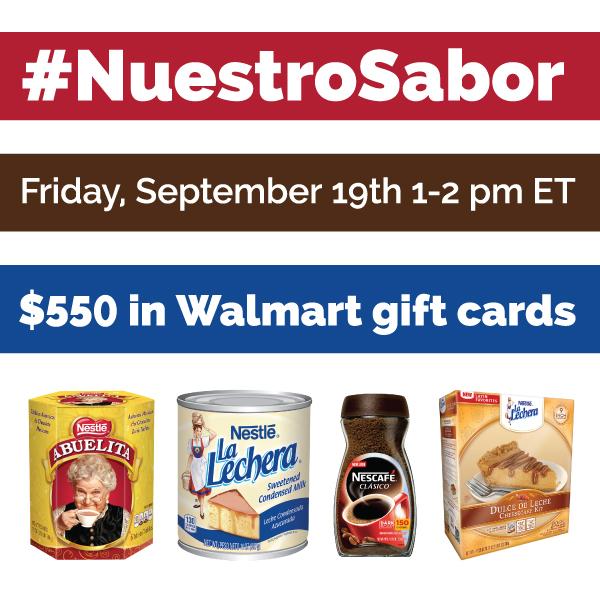 #NuestroSabor-Twitter-Party-9-19-1pmEST
