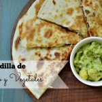 Sam's CLub Quesadilla de Pollo y Vegetales