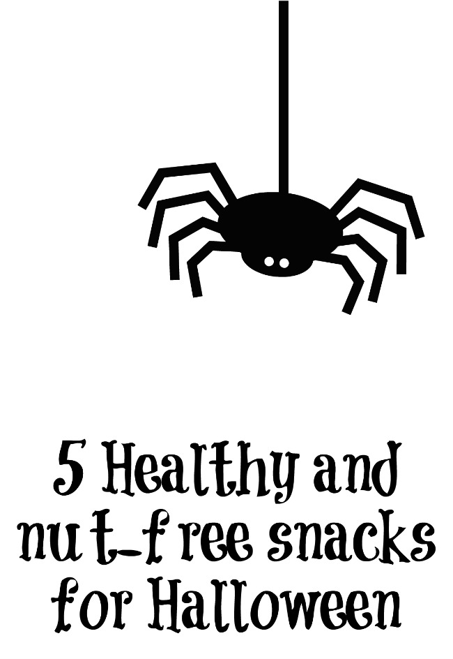 5 Healthy and nut-free snacks for Halloween