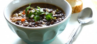 Vegetarian Black Beans Soup
