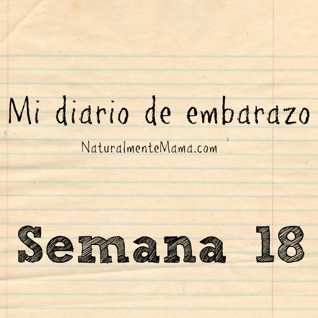 Mi diario de embarazo | Semana 18