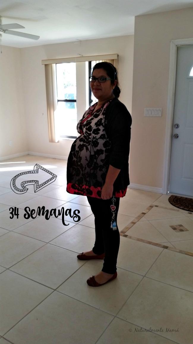 Mi diario de embarazo | Semana 34