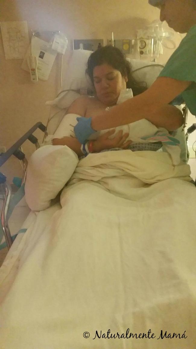 Nacimiento de Baby Oli – Día 2