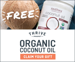 GRATIS: Aceite de Coco Nutiva en Thrive Market