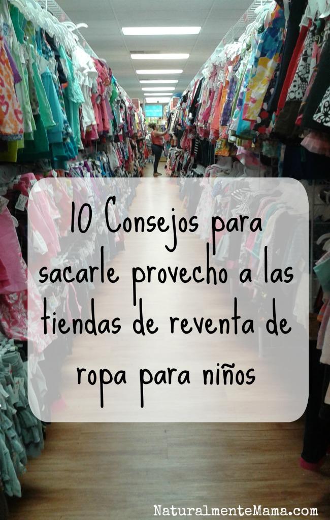 10 Consejos para sacarle provecho a las tiendas de reventa de ropa para niños