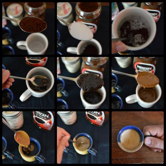 Disfrutando de la Sobremesa con Café Batido