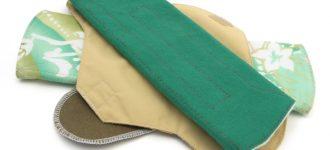Materiales en las toallas femeninas de tela